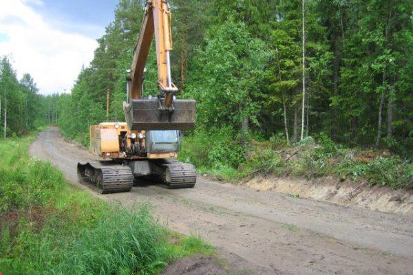 Metsätien perusparannus / Metsänparannuspalvelut Seppäkosky Ky